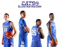 We don't rebuild, we RELOAD.    This year Kyle Wiltjer, Anthony Davis, Marquis Teague, and Michael Kidd-Gilchrist