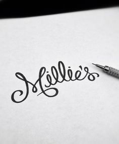 in a brush: a website dedicated to gorgeous hand lettering.