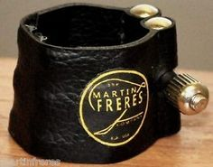 NEW-Genuine-Leather-Bb-Clarinet-Mouthpiece-Ligature-by-Martin-Freres-Company