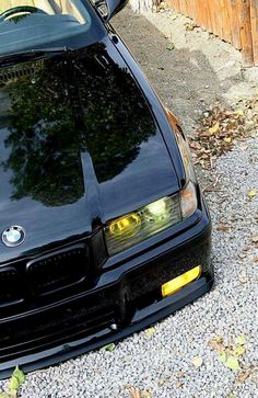 Black and yellow, black and yellow. Bmw E36 Compact, E36 Touring, Rolls Royce, E36 Cabrio, E60 Bmw, Bmw 318, E36 Coupe, Bmw Wallpapers, Bmw Love