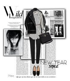 """""""New Year style.."""" by lamari-mimi ❤ liked on Polyvore featuring Chanel, H&M, Louis Vuitton and styleresolution"""