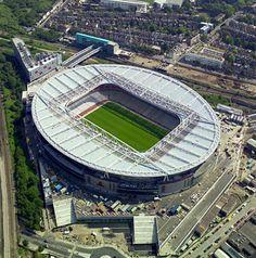 Emirates Stadium in Highbury, Greater London
