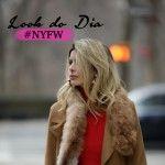 Alerta tendência – Look do dia em cor Caramelo! #NYFW