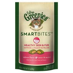 GREENIES Smartbites Skin  Fur Salmon  21 Oz Pack of 4 >>> Read more reviews of the product by visiting the link on the image.(This is an Amazon affiliate link and I receive a commission for the sales)