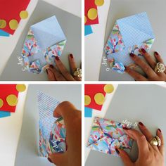 create your own envelopes tutorial: http://www.ohcrafts.net/paper-origami-envelope.php