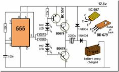 Battery Charger. Hobby Electronics, Electronics Basics, Electronics Components, Electronics Projects, Electronic Circuit Projects, Electrical Projects, Electronic Engineering, Electrical Engineering, Lead Acid Battery Charger
