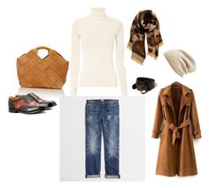 """Camel"" by sistagirll on Polyvore featuring Loewe, J.Crew, Church's, BP., Halogen and Hollister Co."