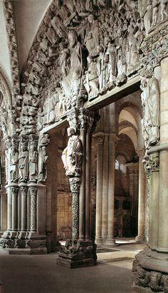 Cathedral of Santiago de Compostela, Portico de la Gloria, c. 1168-1188.