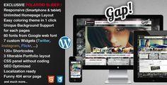 Gap - Responsive Portfolio and Business Theme