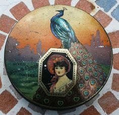 George W Horner 'Dainty Dinah' circular tin with by Tinternet