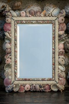 shell mirror by carolyn brookes-davies
