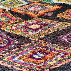Tapis de Boucherouite, tapis Berbère