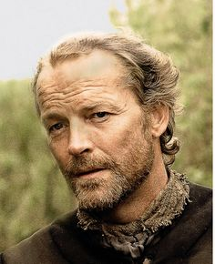 Sir Jorah Mormont, The Bear - friend and protecter of Daenerys Stormborn. Seriously, Daenerys, if you don't want him...