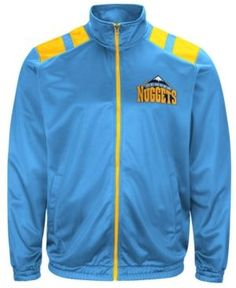 G-iii Men's Sports Denver Nuggets Broad Jump Track Jacket - Blue XXL