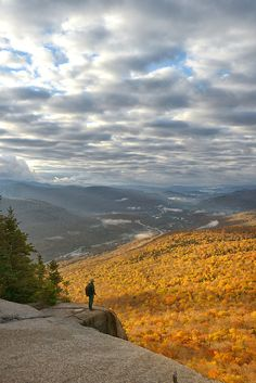 View from Indian Head, Franconia Notch State Park, White Mountains,, Grafton…
