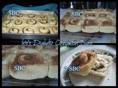 Iris's Diabetic Cinnamon Buns