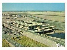 DXB Dubai Airport in the 1980s | Der Flughafen von Dubai in den 1980er Jahren