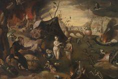 Alle Größen | Bosch, Hieronymous (follower) - THE TEMPTATION OF SAINT ANTHONY | Flickr - Fotosharing!