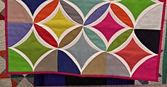 Cathedral Window Quilt - Imagine Making This Beauty. Cathedral window quilt is one of my favorite. Jazz it up with bold bright colors like this one. Cathedral Window Quilts, Cathedral Windows, Attic Window Quilts, Big Block Quilts, Quilting Designs, Quilt Design, Quilting Tips, Quilting Projects, Missouri Star Quilt