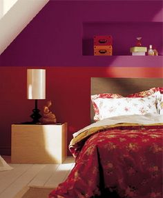 exotic red bedroom a deep red room will make a small bedroom exotic bedrooms pinterest red bedrooms and red rooms - Bedroom Color Red