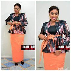 African Lace, African Wear, African Dress, Model Kebaya, Work Fashion, Fashion Design, African Fashion Dresses, Dress For Success, Ankara Styles