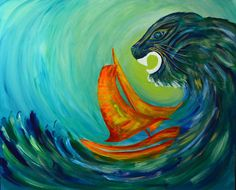 Waves, 3d, Nature, Artwork, Painting, Naturaleza, Work Of Art, Auguste Rodin Artwork, Painting Art