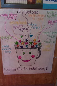 Bucket Filler Coloring Page - √ 32 Bucket Filler Coloring Page , Have You Filled A Bucket today Activities Bucket Filling Classroom, Bucket Filler Activities, Fill Your Bucket, School Social Work, Social Emotional Learning, Social Skills, Future Classroom, Classroom Decor, Kindergarten Classroom