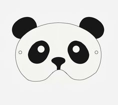 Little Pin Cushion Studio Free Printable Panda Mask