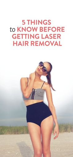 What to know about laser hair removal and tips before you go #tips #beauty #health