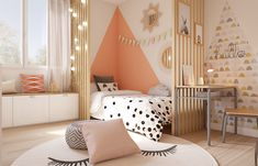 Baby Nursery Decor, Home Staging, New Room, Cozy House, Matilda, Colorful Decor, Girls Bedroom, Room Inspiration, Baby Room