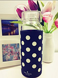Glass Water Bottle - Kate Spade NY