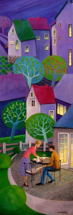 Iwona Lifsches ~ Coffee with Love I