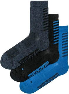 H M 3-pack sports socks - Blue Sports Socks, Dark Blue, Deep Blue 251920219bce