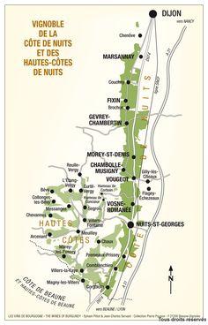 wine map of marsannay