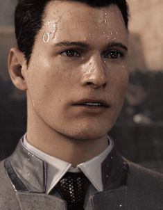 Detroit: Become Human, Connor Those graphics though
