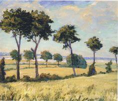 Trees near Breccles Winston Churchill