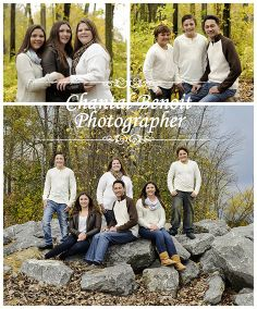 Beautiful Fall Family Portrait