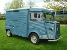 The beautiful Citroen H Van just like the one I had in the 70s