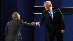 "Donald Trump and his team are slamming presidential debate moderator Lester Holt for not asking Hillary Clinton questions Monday night about her email controversy and possible conflicts of interest concerning the Clinton Foundation, among other things. ""He didn't ask her about the emails at all,""..."