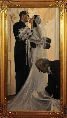 Andrew Loomis, Romance Art, Classical Art, Couple Art, Old Art, Oeuvre D'art, Art Inspo, Les Oeuvres, Vintage Art