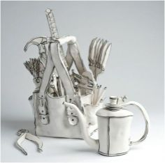 Esculturas en cerámica de Katharine Morling