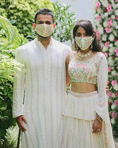 Top 10 Ready To Wear Designer Mask Brands For Indian Wedding Guests ! - Witty Vows Indian Wedding Photography, Engagement Shoots, Designer Wear, Vows, Ready To Wear, How To Wear, Dresses, Fashion, Vestidos