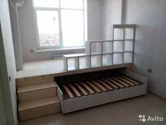 двуспальная выдвижная кровать подиум в однокомнатной квартире: 8 тыс изображений найдено в Яндекс.Картинках