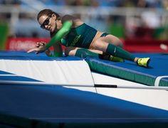 atletismo; salto com vara; olimpíadas; fabiana murer; brasil (Foto: Danilo…