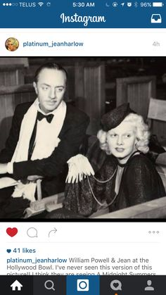 The Hollywood Bowl, Vintage Hollywood, Hollywood Stars, Classic Hollywood, William Powell, Glamour Shots, Instagram