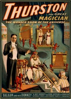 Thurston The Great Magician: The Wonder Show Of The Universe