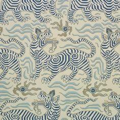 Clarence House: Tibet Wallpaper in Cream 9985-6