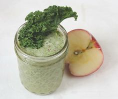 Kale Apple smoothie