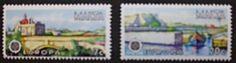 Europa stamps, 1977, Malta, SG ref: 584 & 585, 2 stamp set, MNH