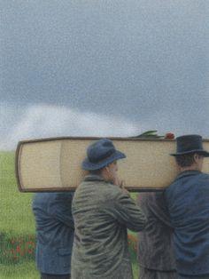 Das Ende einer Geschichte - The End of a Story by Quint Buchholz, 2013